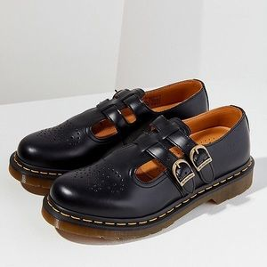 NWT Dr Martens Mary Jane 8065 Black Smooth